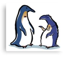 penguin lifestyles Canvas Print