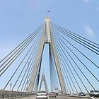 anzac bridge by kchamula