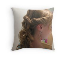 formal hair! Throw Pillow