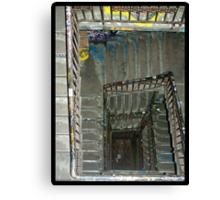 Tacheles Staircase Canvas Print