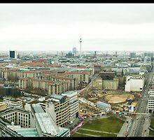 Berlin Skyline Panorama by Tim Topping