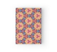 Colorful Sky Roses Floral Flowers Hardcover Journal