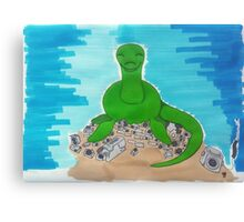 Loch Ness The Camera Hoarder Canvas Print