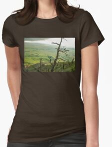 Stormy Tree Womens Fitted T-Shirt