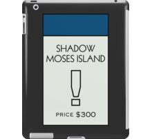 Shadow Moses Island - Property Card iPad Case/Skin