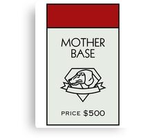 Mother Base - Property Card Canvas Print