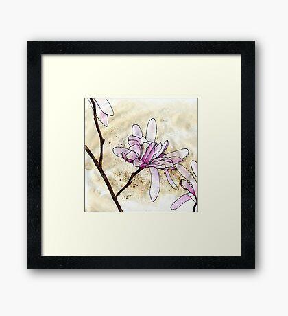 Magnolias 2 Framed Print