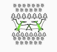 Pterodactyl Ugly Christmas Sweater Unisex T-Shirt