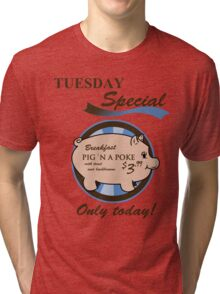 Supernatural - Pig 'n a poke Tri-blend T-Shirt