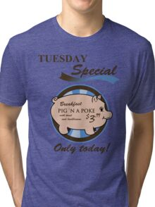 Supernatural - Pig 'n a poke Tri-blend T-Shirt