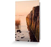 Cove Sunrise pt5 Greeting Card