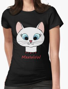 MeeWow! Womens Fitted T-Shirt