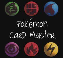Pokemon Card Master Kids Tee