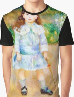 Pierre-Auguste Renoir - Boy with a Whip Graphic T-Shirt