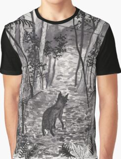 Entering the Woods Graphic T-Shirt