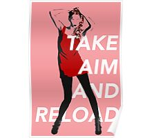 Take Aim And Reload Poster
