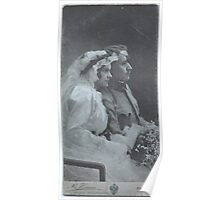 """Sentimental Wedding & Bridal PhotoArt . Ku K HOF - PHOTOGRAPH .Tribute to B.Henner. Brown Sugar."""" The mem'ry of the past will stay, And half our joys renew."""" Views: 110. Poster"""