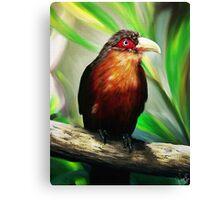 Tropical Bird Canvas Print