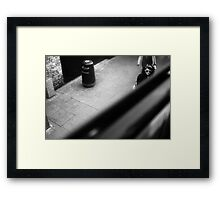 LONDON: VIEWS FROM THE TOP DECK PT 11: CUTTING EDGE Framed Print