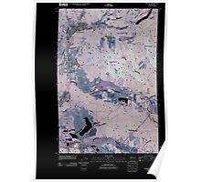 USGS Topo Map Washington State WA Bucoda 20110405 TM Inverted Poster