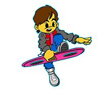 Hover Board Hop Photographic Print