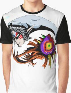 Majora's Mask Ying Yang Graphic T-Shirt