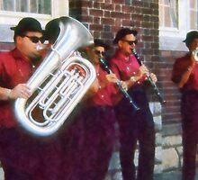 Oompah Band by Susan Savad