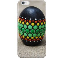 Mandala Designed easter eggs stone iPhone Case/Skin
