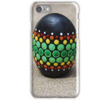 Mandala Designed easter eggs stone iPhone Case/Skin