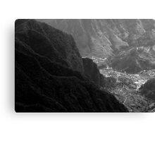 Valley Canvas Print