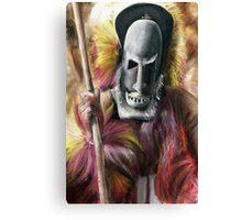 Tribal Warrior Canvas Print