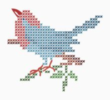 Dear Little Cross Stitch Bird by meredithjean