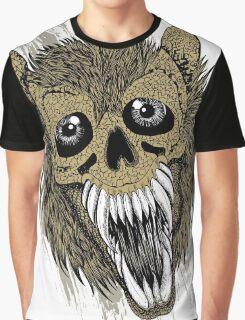 Evil Halloween Werewolf Graphic T-Shirt