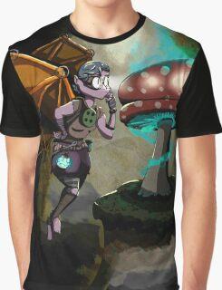 Steampunk Fairy Graphic T-Shirt