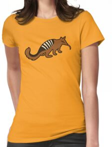 Cute Numbat Womens Fitted T-Shirt