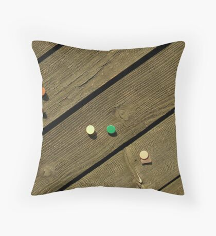 Morning pins Throw Pillow