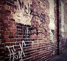 Graffiti Alley by megandunn