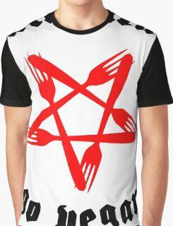 Hail Seitan Go Vegan Graphic T-Shirt
