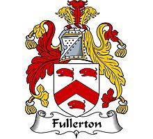 Fullerton Coat of Arms / Fullerton Family Crest Photographic Print