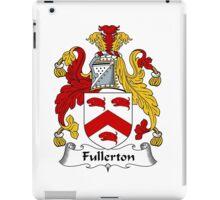 Fullerton Coat of Arms / Fullerton Family Crest iPad Case/Skin
