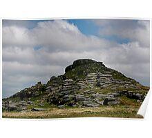 Longaford Tor, Dartmoor Poster