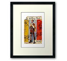 Walking Dynamite Framed Print