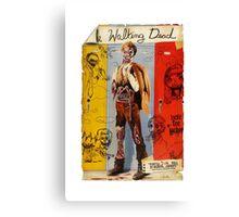 Walking Dynamite Canvas Print