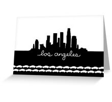 The Traffic City Greeting Card