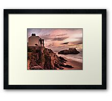 Sunrise on St Catherines Island. Framed Print