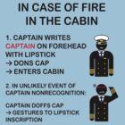 Captain Dons Cap by MoriNoYosei