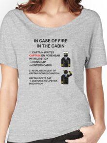 Captain Dons Cap Women's Relaxed Fit T-Shirt