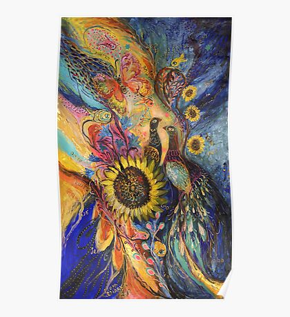 The Sunflower... visit www.elenakotliarker.com to purchase the original Poster
