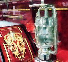 Lantern on Old Fire Truck by Susan Savad
