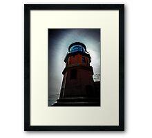 Spooky Lighthouse Framed Print